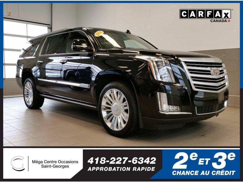 2016 Cadillac  Escalade ESV Platinum / AWD / 22'' / FULL