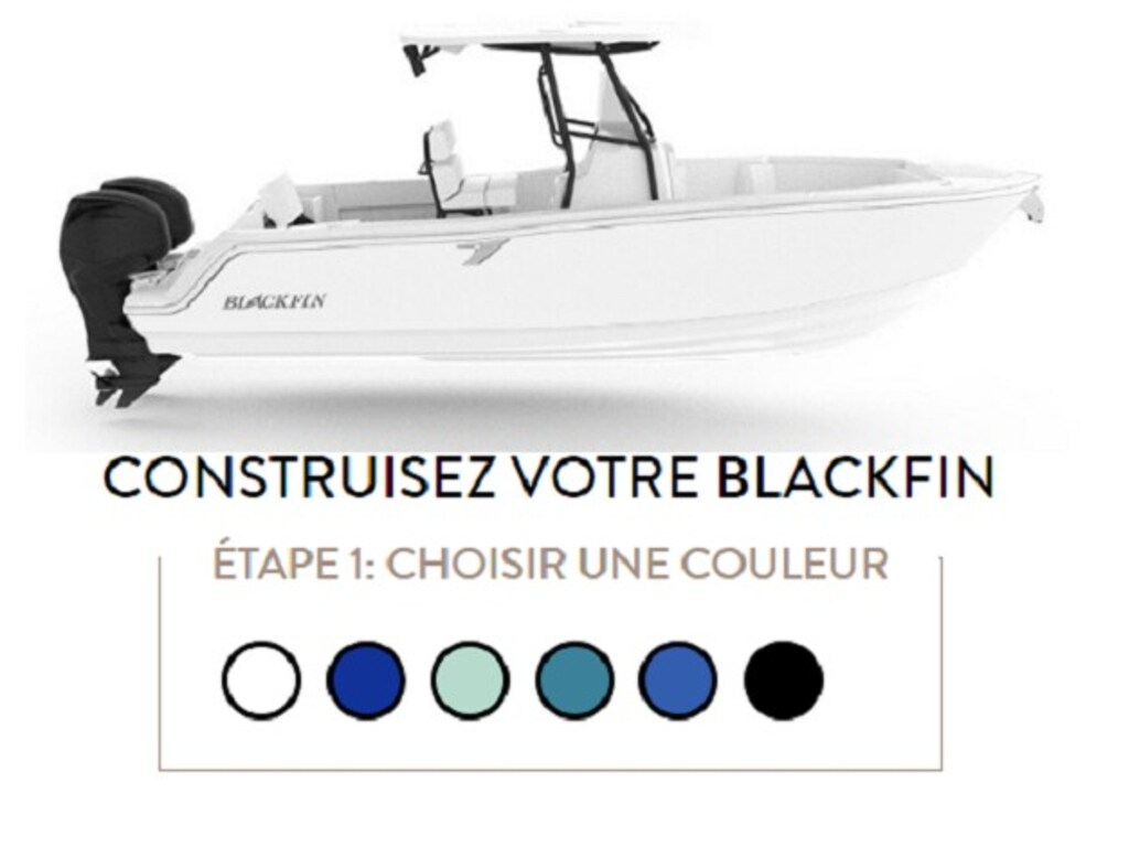 2020 Blackfin boat for sale, model of the boat is 242cc & Image # 25 of 30