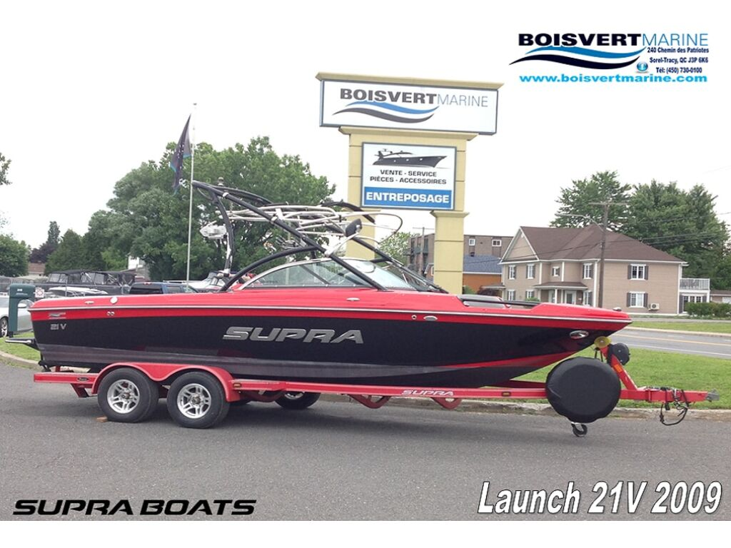 2009 Supra boat for sale, model of the boat is Launch 21v & Image # 1 of 13