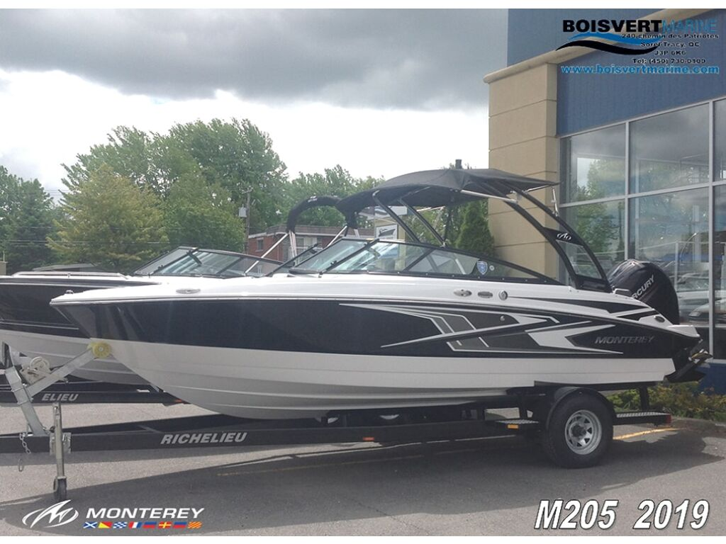2019 Monterey boat for sale, model of the boat is M205 & Image # 1 of 16