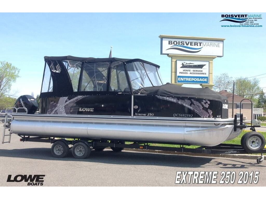2015 Lowe boat for sale, model of the boat is Xtreme 250 (3 Quilles) & Image # 1 of 12