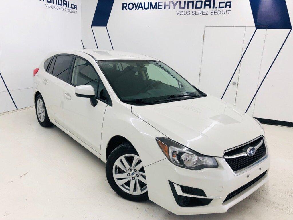2016 Subaru  Impreza -