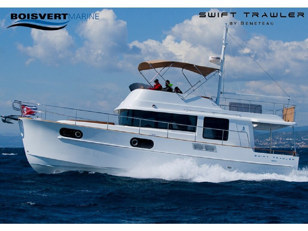 2020 Beneteau boat for sale, model of the boat is Swift Trawler 44 & Image # 1 of 14