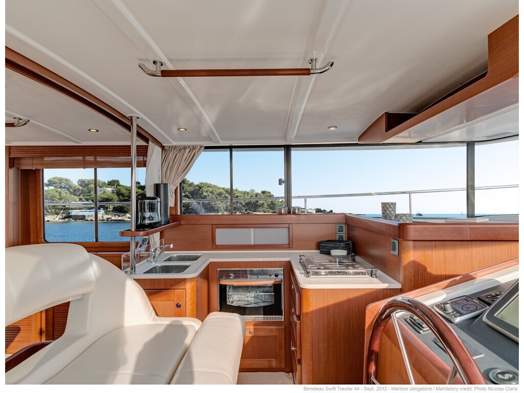 2021 Beneteau boat for sale, model of the boat is Swift Trawler 44 & Image # 5 of 14