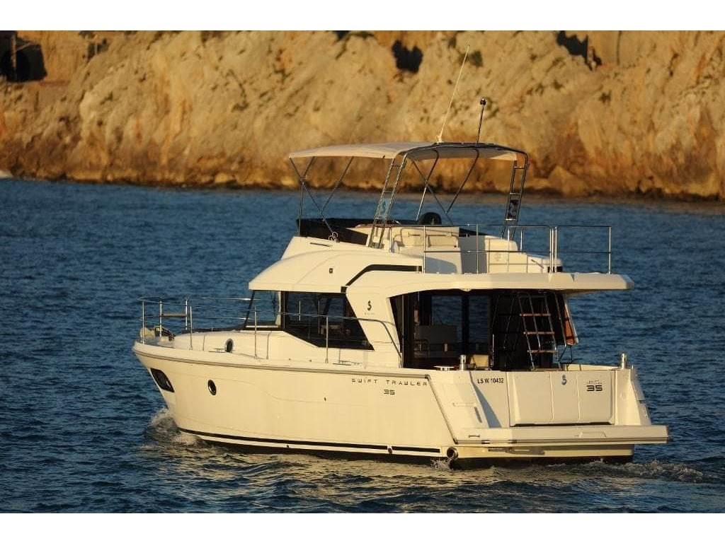 2020 Beneteau boat for sale, model of the boat is Swift Trawler 35 & Image # 5 of 18