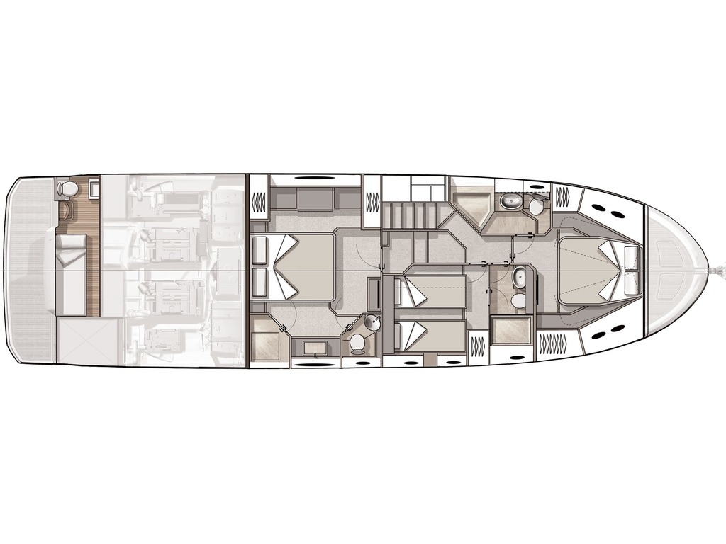 2021 Beneteau boat for sale, model of the boat is Monte Carlo 6 & Image # 3 of 14