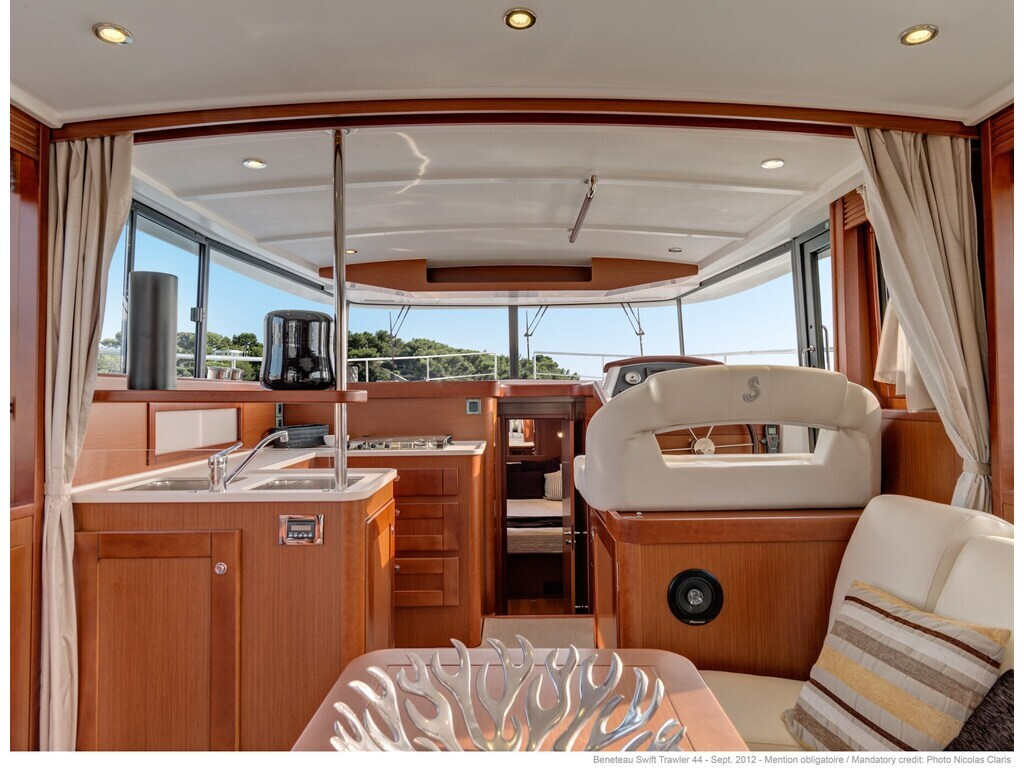 2021 Beneteau boat for sale, model of the boat is Swift Trawler 44 & Image # 4 of 14