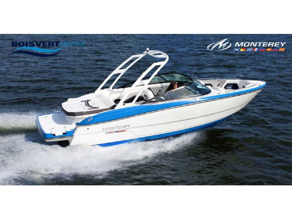 2020 Monterey boat for sale, model of the boat is 238 Ss & Image # 18 of 20