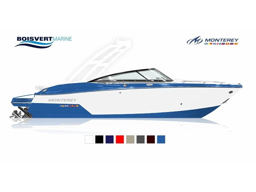 2020 Monterey boat for sale, model of the boat is 238 Ss & Image # 2 of 20