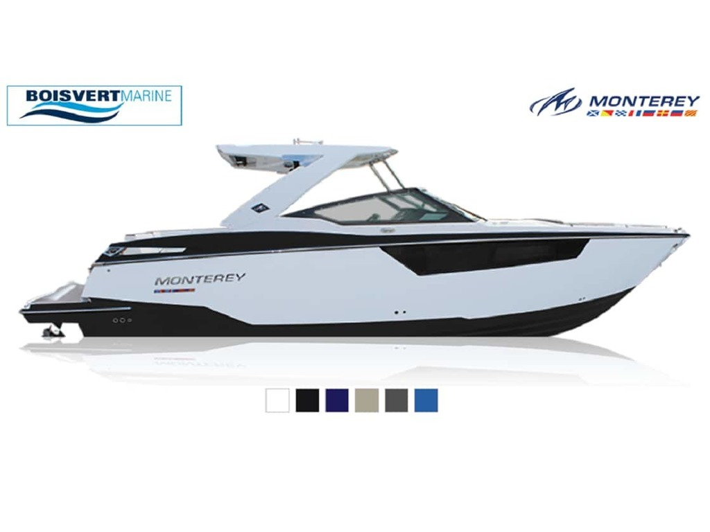 2021 Monterey boat for sale, model of the boat is 378se & Image # 1 of 7