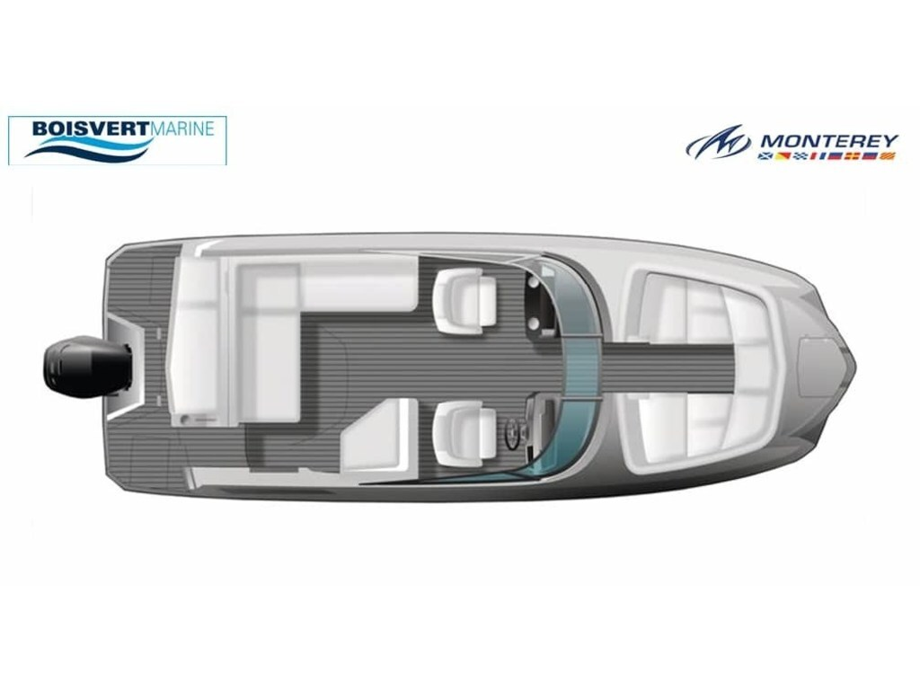 2021 Monterey boat for sale, model of the boat is M65 & Image # 2 of 9