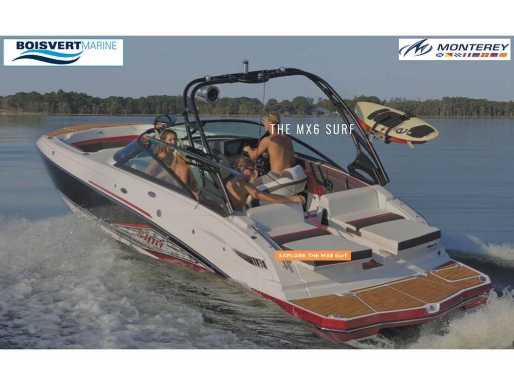 2020 Monterey boat for sale, model of the boat is Mx6 Surf & Image # 1 of 6