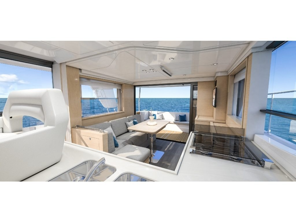 2020 Beneteau boat for sale, model of the boat is Swift Trawler 47 & Image # 4 of 12