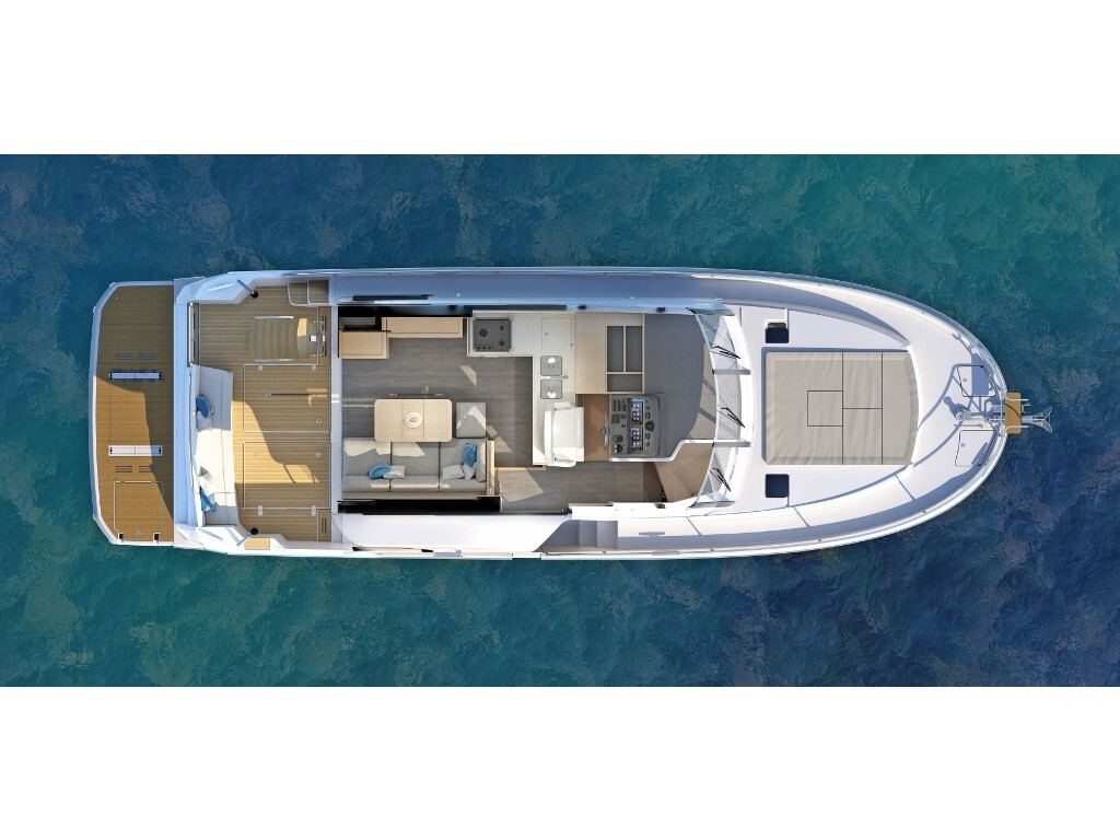 2020 Beneteau boat for sale, model of the boat is Swift Trawler 47 & Image # 11 of 12