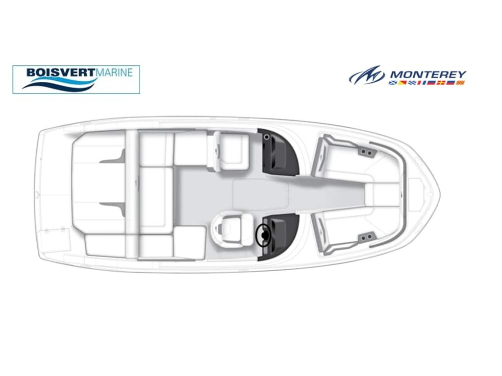 2022 Monterey boat for sale, model of the boat is M22  & Image # 4 of 4