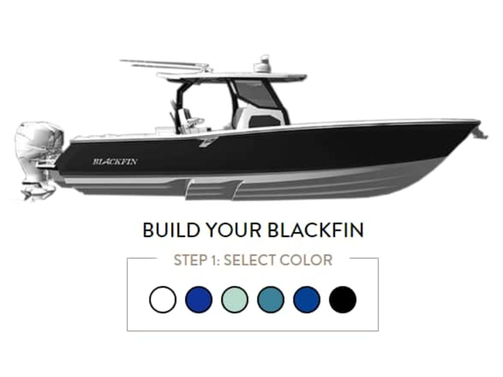 2021 Blackfin Marine International boat for sale, model of the boat is 332cc & Image # 3 of 14