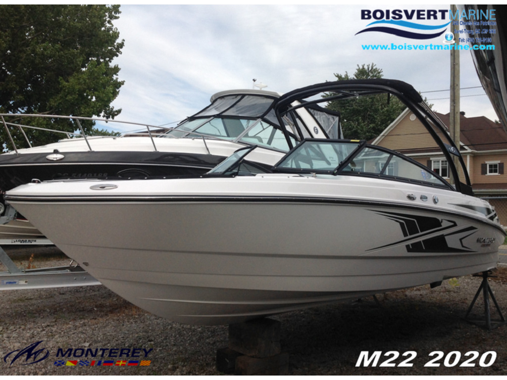 2020 Monterey boat for sale, model of the boat is M22 & Image # 1 of 16