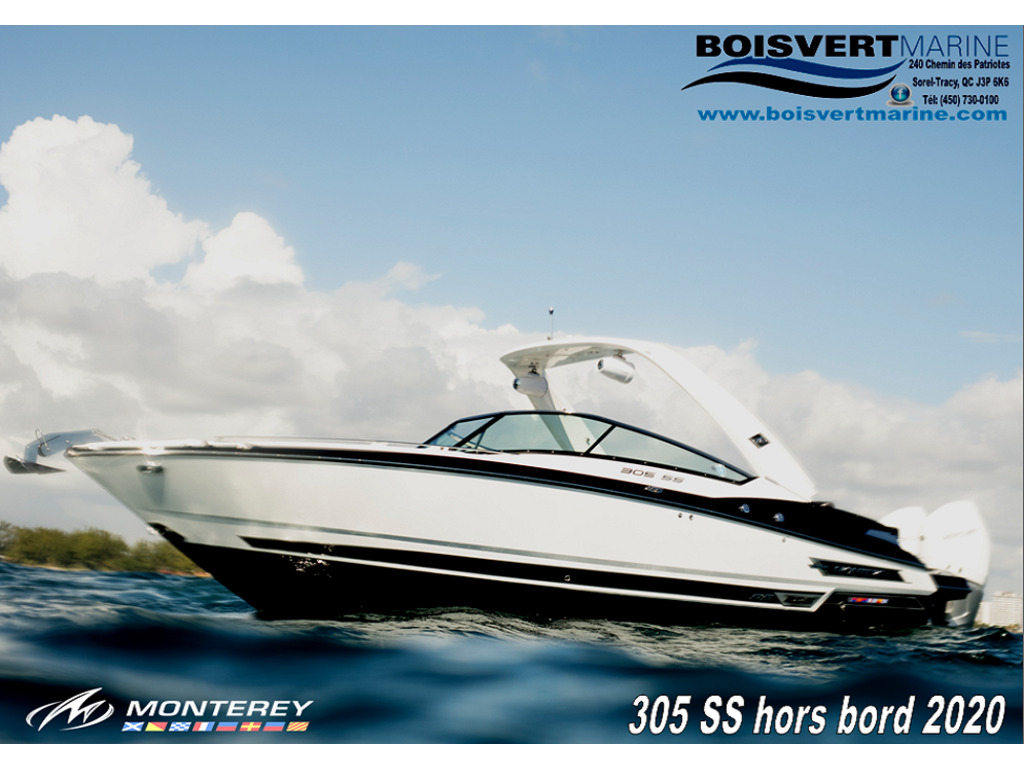2020 Monterey boat for sale, model of the boat is 305 Ss & Image # 1 of 4