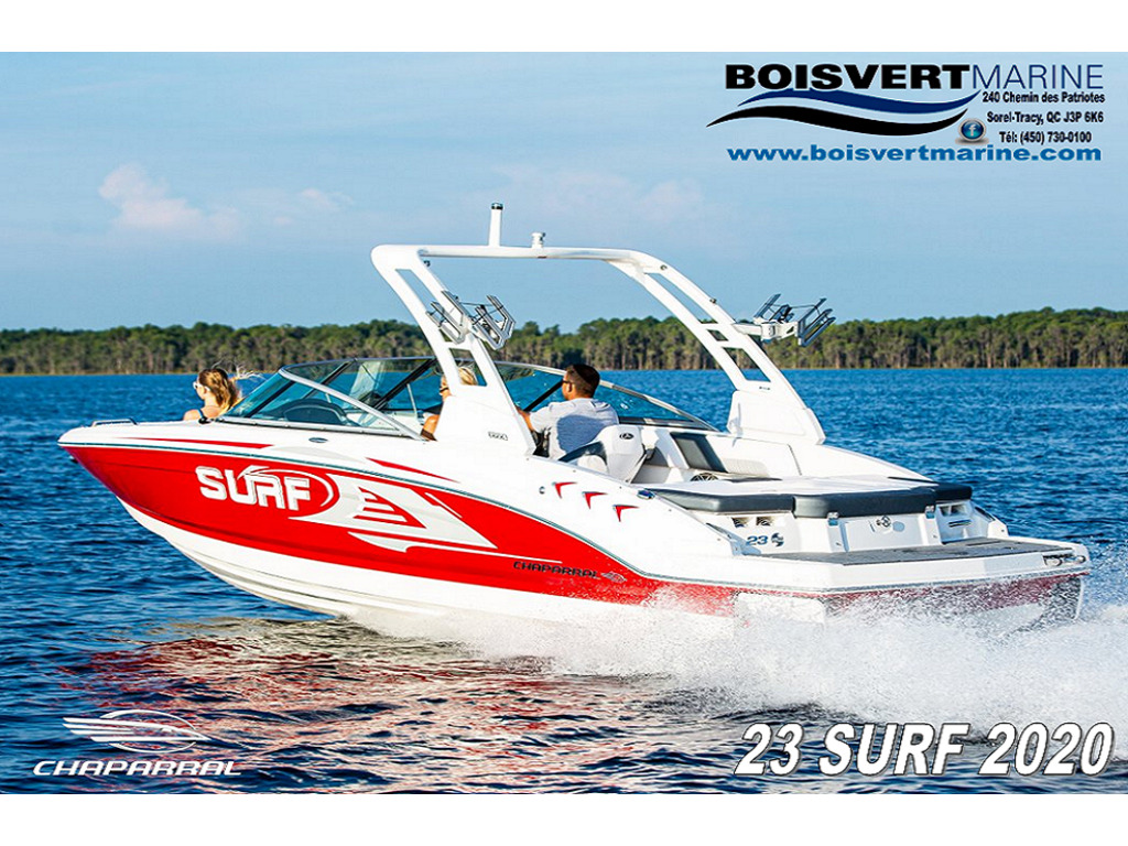 2020 Chaparral boat for sale, model of the boat is 23 Surf  & Image # 1 of 3