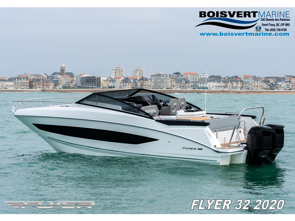 2020 Beneteau boat for sale, model of the boat is Flyer 32 & Image # 1 of 13