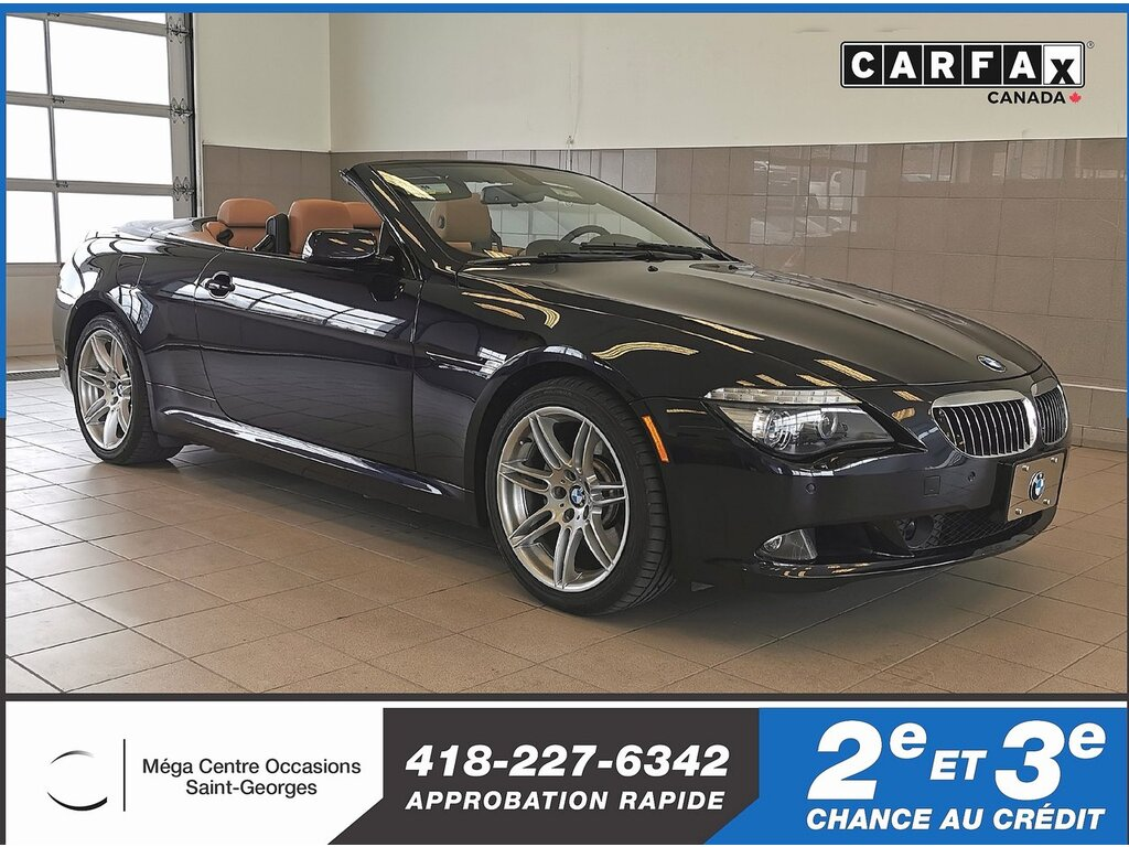 2010 BMW  6 Series 650i / CONVERTIBLE