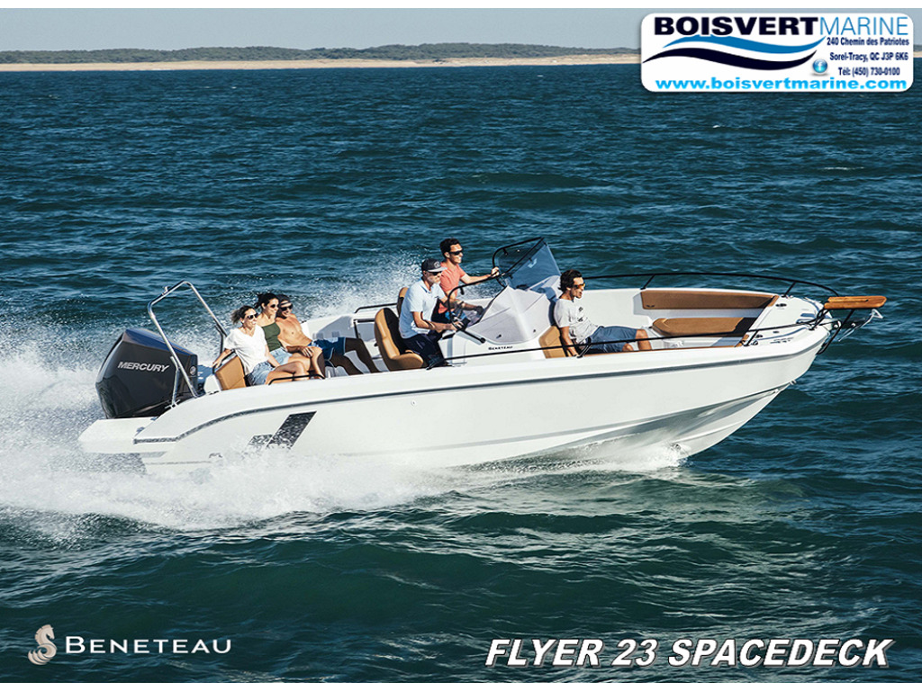 2021 Beneteau boat for sale, model of the boat is Flyer 9 Spacedeck & Image # 1 of 5