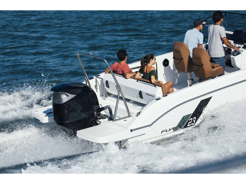 2021 Beneteau boat for sale, model of the boat is Flyer 9 Spacedeck & Image # 5 of 5