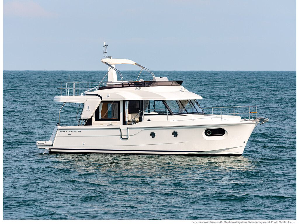 2021 Beneteau boat for sale, model of the boat is Swift Trawler 41 & Image # 19 of 20