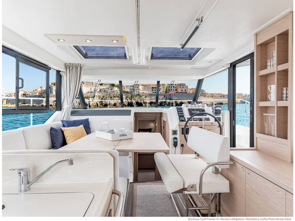 2021 Beneteau boat for sale, model of the boat is Swift Trawler 41 & Image # 4 of 20