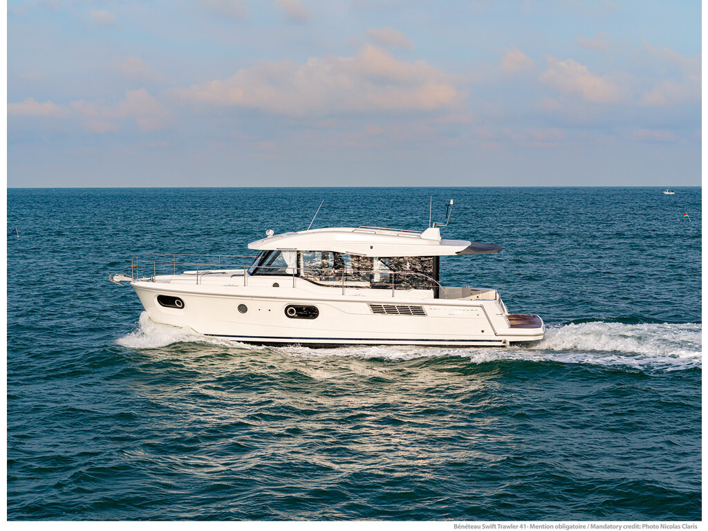 2021 Beneteau boat for sale, model of the boat is Swift Trawler 41 & Image # 3 of 20