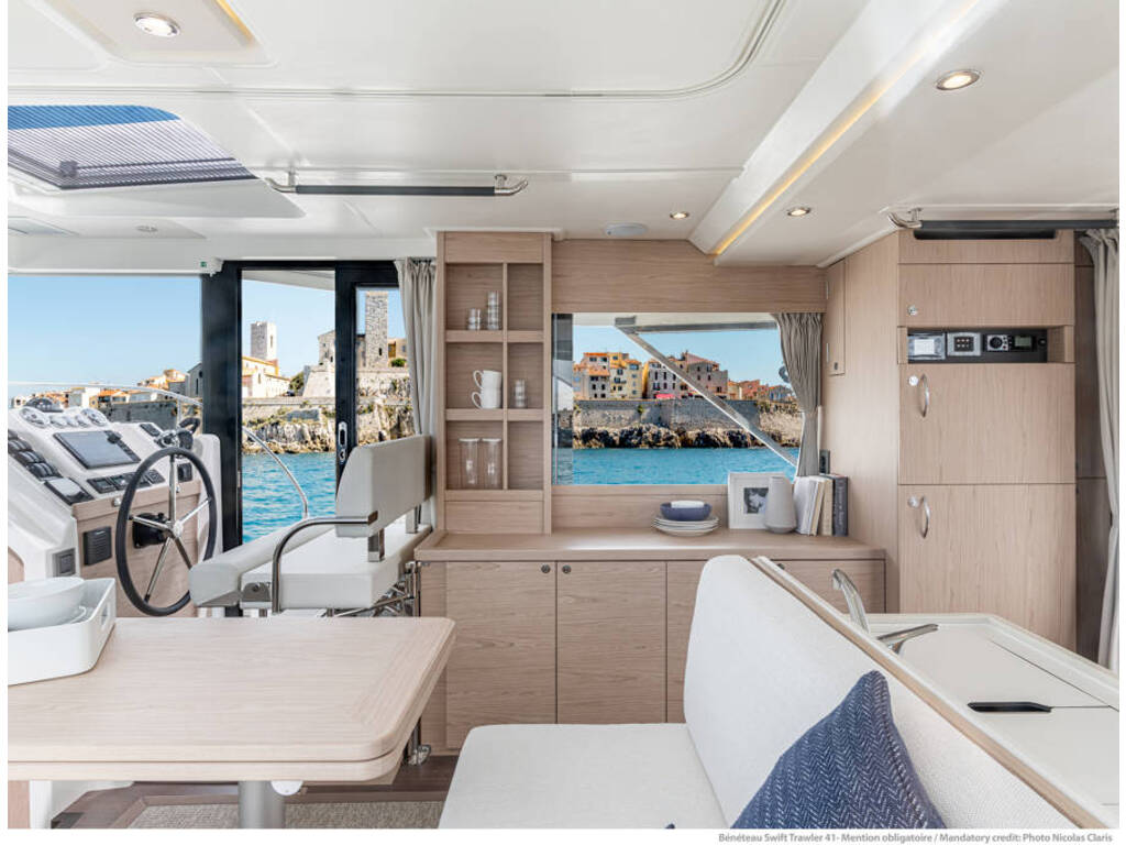 2021 Beneteau boat for sale, model of the boat is Swift Trawler 41 & Image # 7 of 20