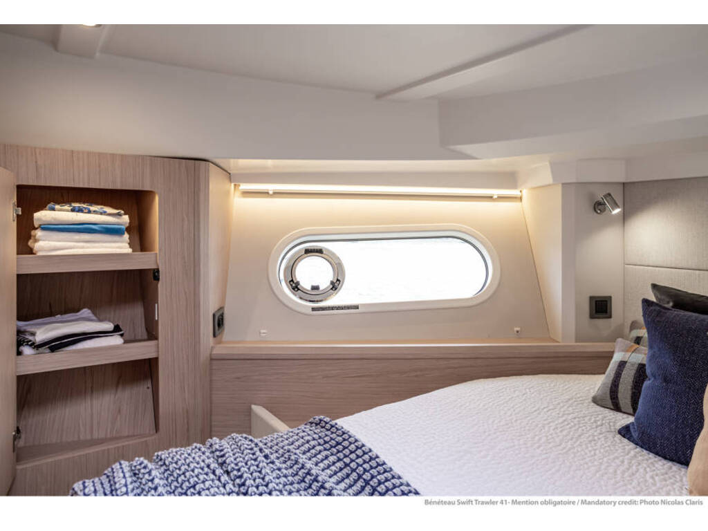 2021 Beneteau boat for sale, model of the boat is Swift Trawler 41 & Image # 13 of 20