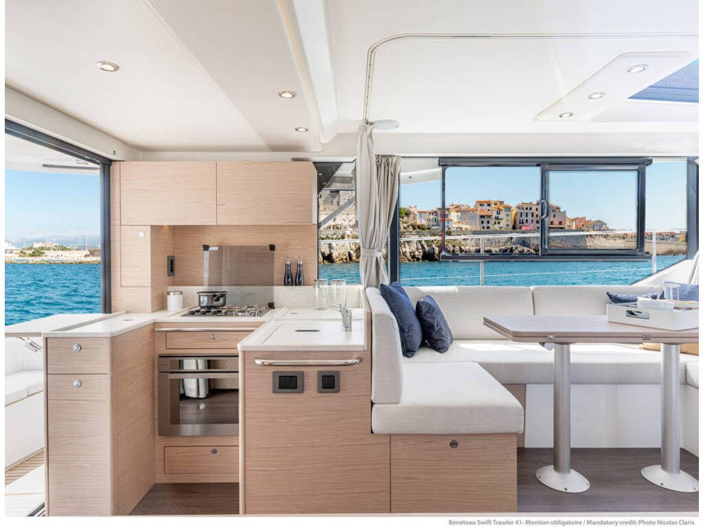 2021 Beneteau boat for sale, model of the boat is Swift Trawler 41 & Image # 5 of 20