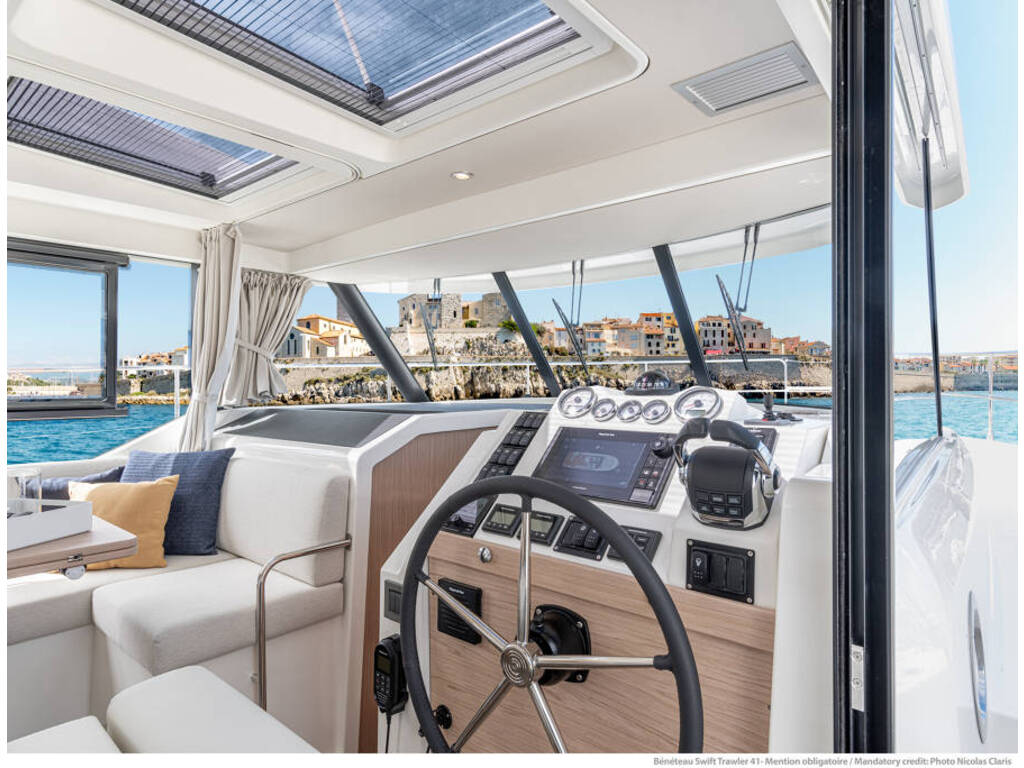 2021 Beneteau boat for sale, model of the boat is Swift Trawler 41 & Image # 12 of 20