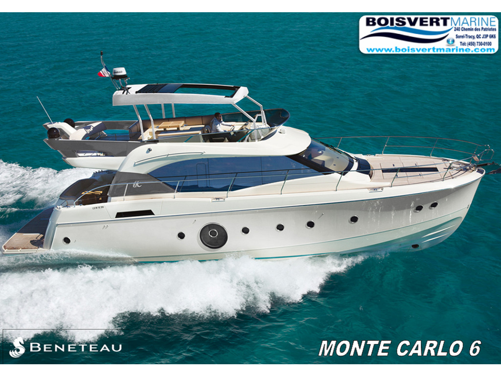 2020 Beneteau boat for sale, model of the boat is Monte Carlo 6 & Image # 1 of 17