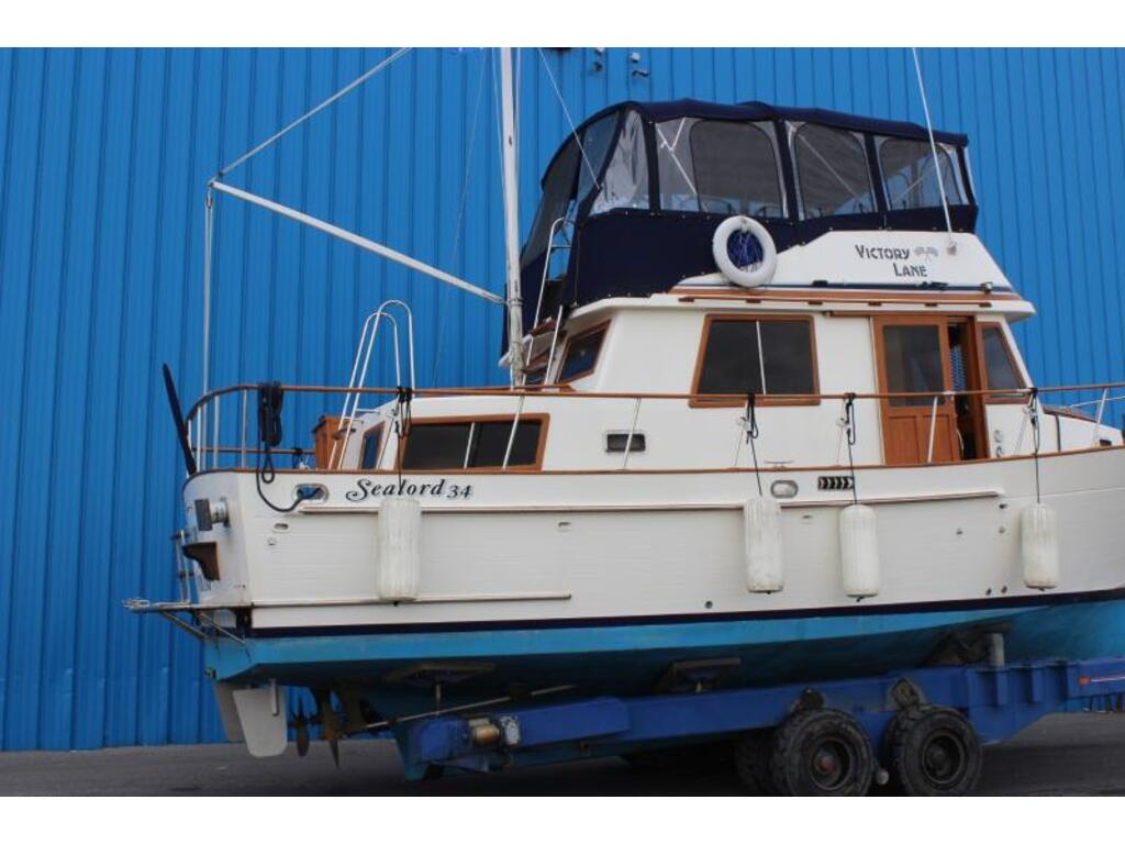 1987 Custom boat for sale, model of the boat is Sealord 34 & Image # 2 of 11