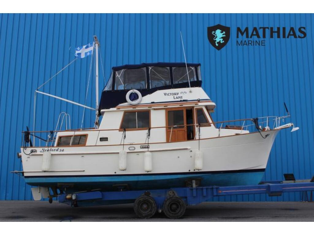 1987 Custom boat for sale, model of the boat is Sealord 34 & Image # 1 of 11