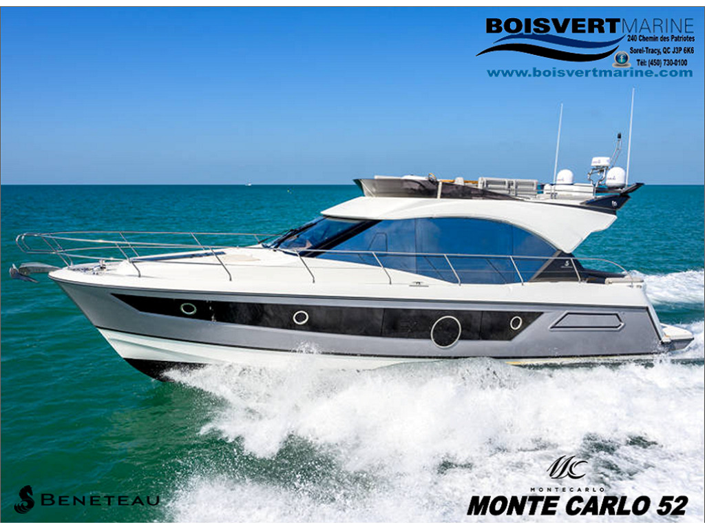 2021 Beneteau boat for sale, model of the boat is Monte Carlo 52 & Image # 1 of 11