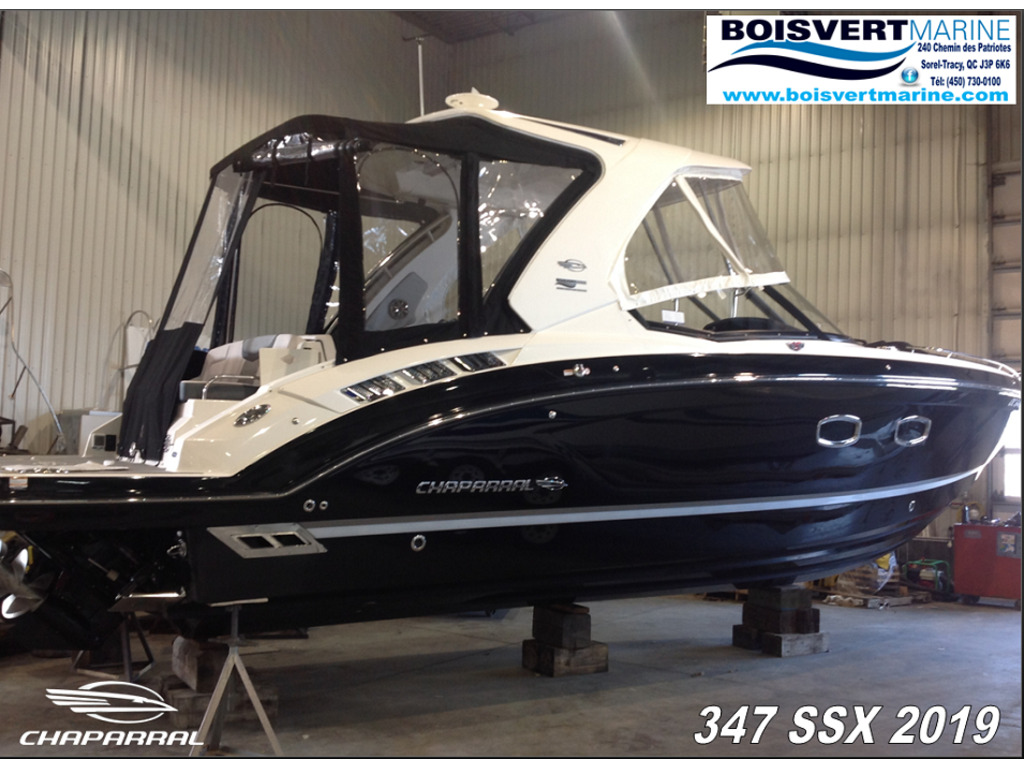 2019 Chaparral boat for sale, model of the boat is 347 Ssx & Image # 1 of 18