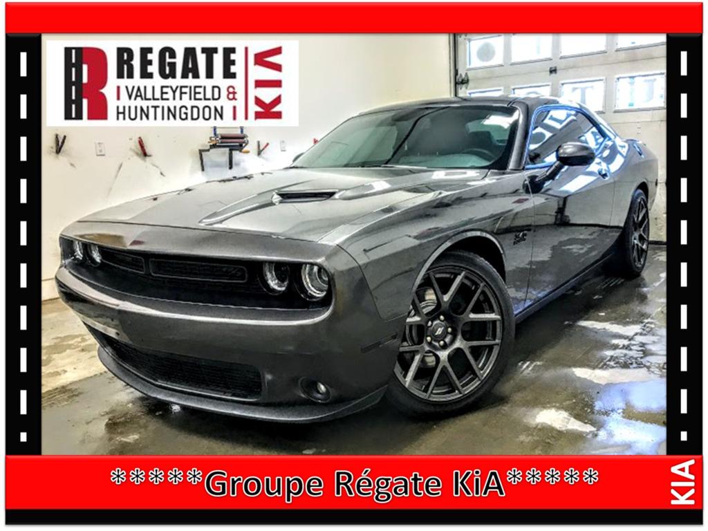 2017 Dodge  Challenger R/T***GPS***Cuir**Mags**Démarreur à distance***