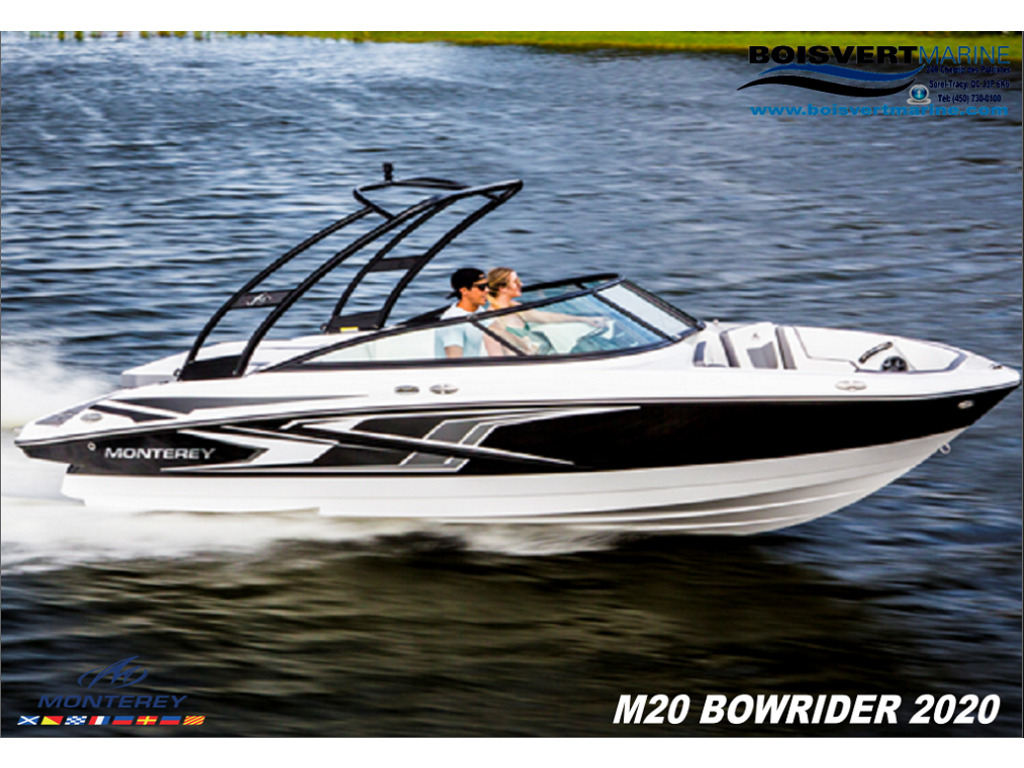 2020 Monterey boat for sale, model of the boat is M20 & Image # 14 of 17
