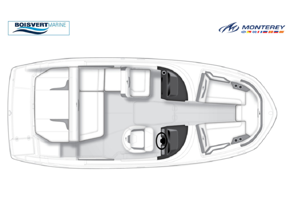2020 Monterey boat for sale, model of the boat is M20 & Image # 2 of 18