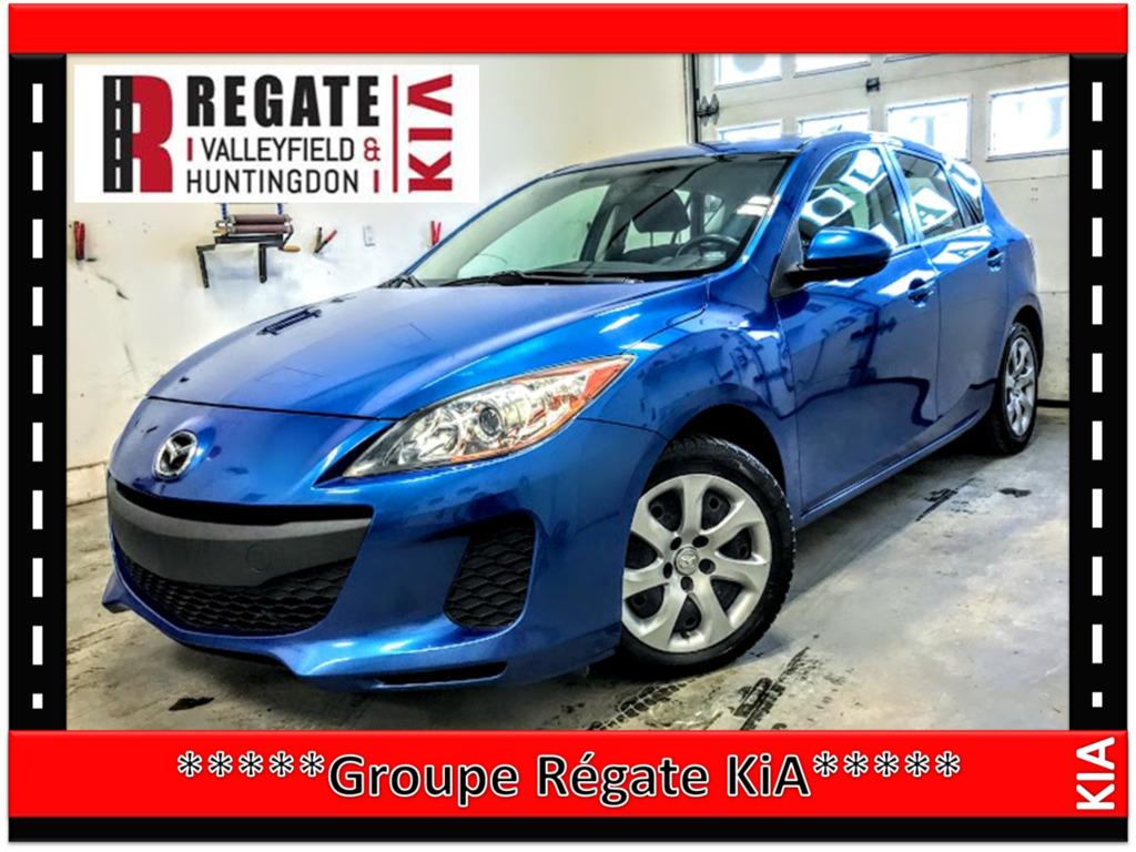 2013 Mazda  Mazda3 GX***Air climatisé, Portes électriques, Vitres éle