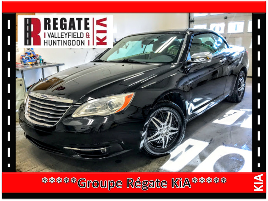 2012 Chrysler  200 **Limited 2dr Convertible***Air climatisé***cuir**