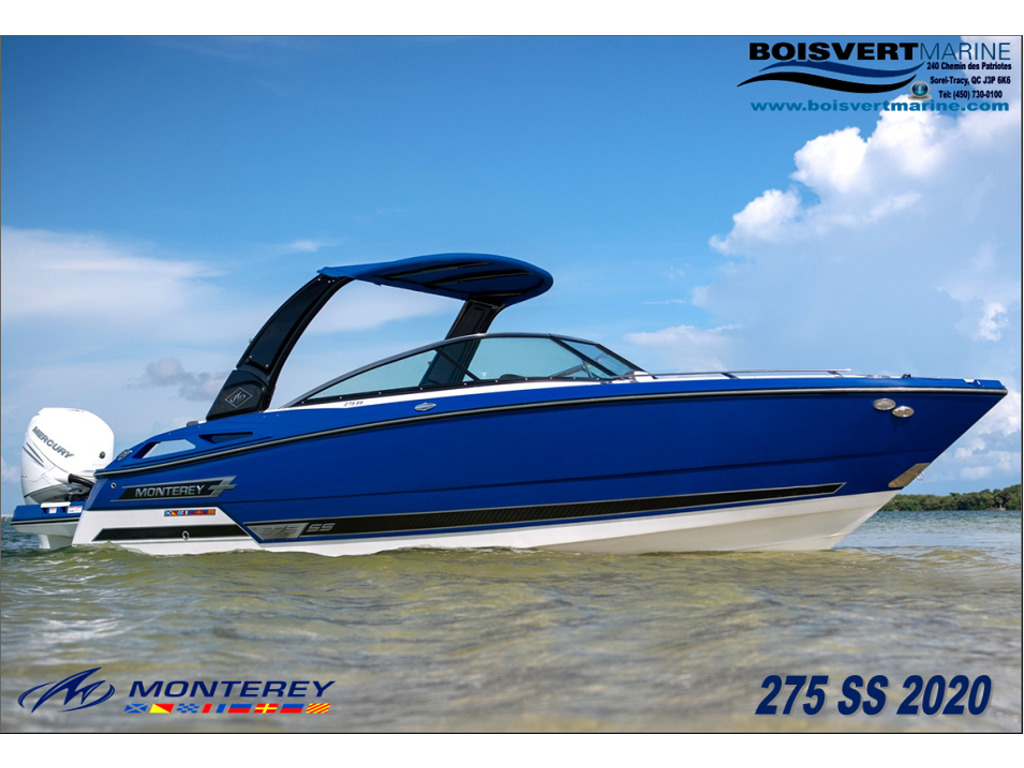 2020 Monterey boat for sale, model of the boat is 275 Ss & Image # 1 of 6