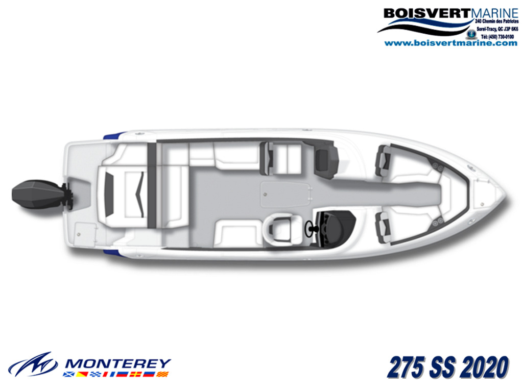 2020 Monterey boat for sale, model of the boat is 275 Ss & Image # 2 of 6