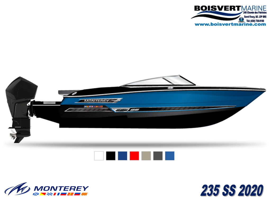 2021 Monterey boat for sale, model of the boat is 235 Ss & Image # 2 of 6