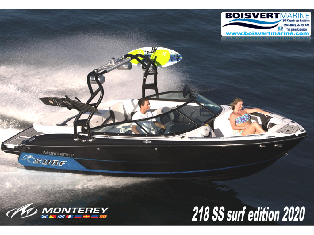 2020 Monterey boat for sale, model of the boat is 218 Ss-surf Edition & Image # 1 of 5
