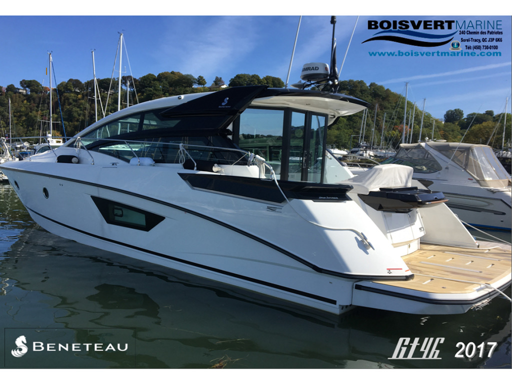 2017 Beneteau boat for sale, model of the boat is Gt46 & Image # 1 of 13
