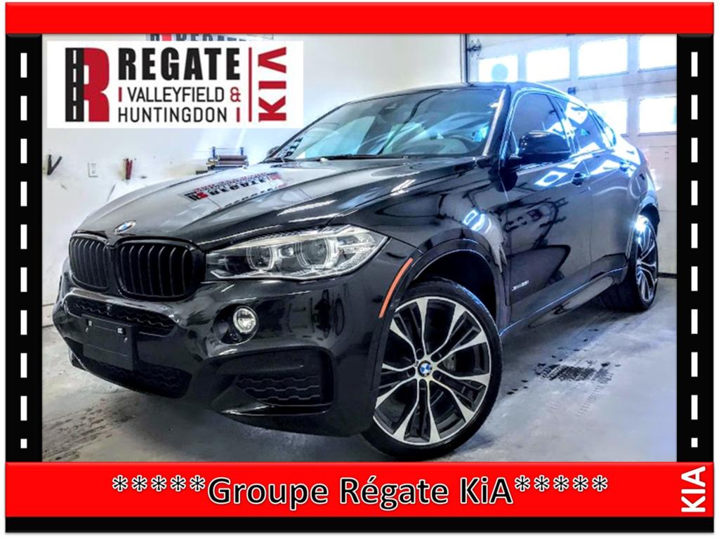2018 BMW  X6 XDrive35i***M PACKAGE***NAVI**prendre rendez-vous